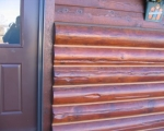Rustic siding