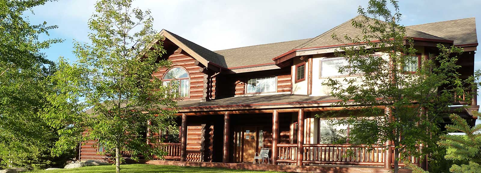 Montana log home for sale lumberjack homes for Montana home builders